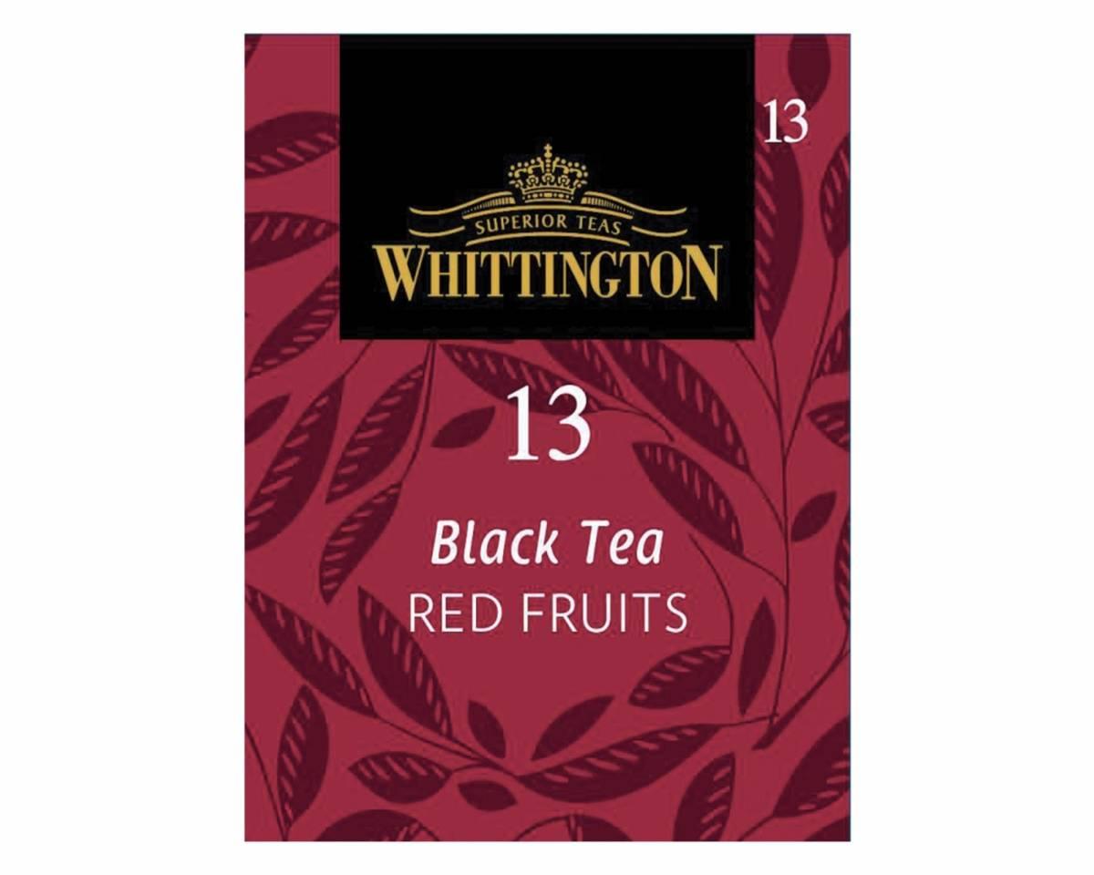 Thé noir fruits rouges