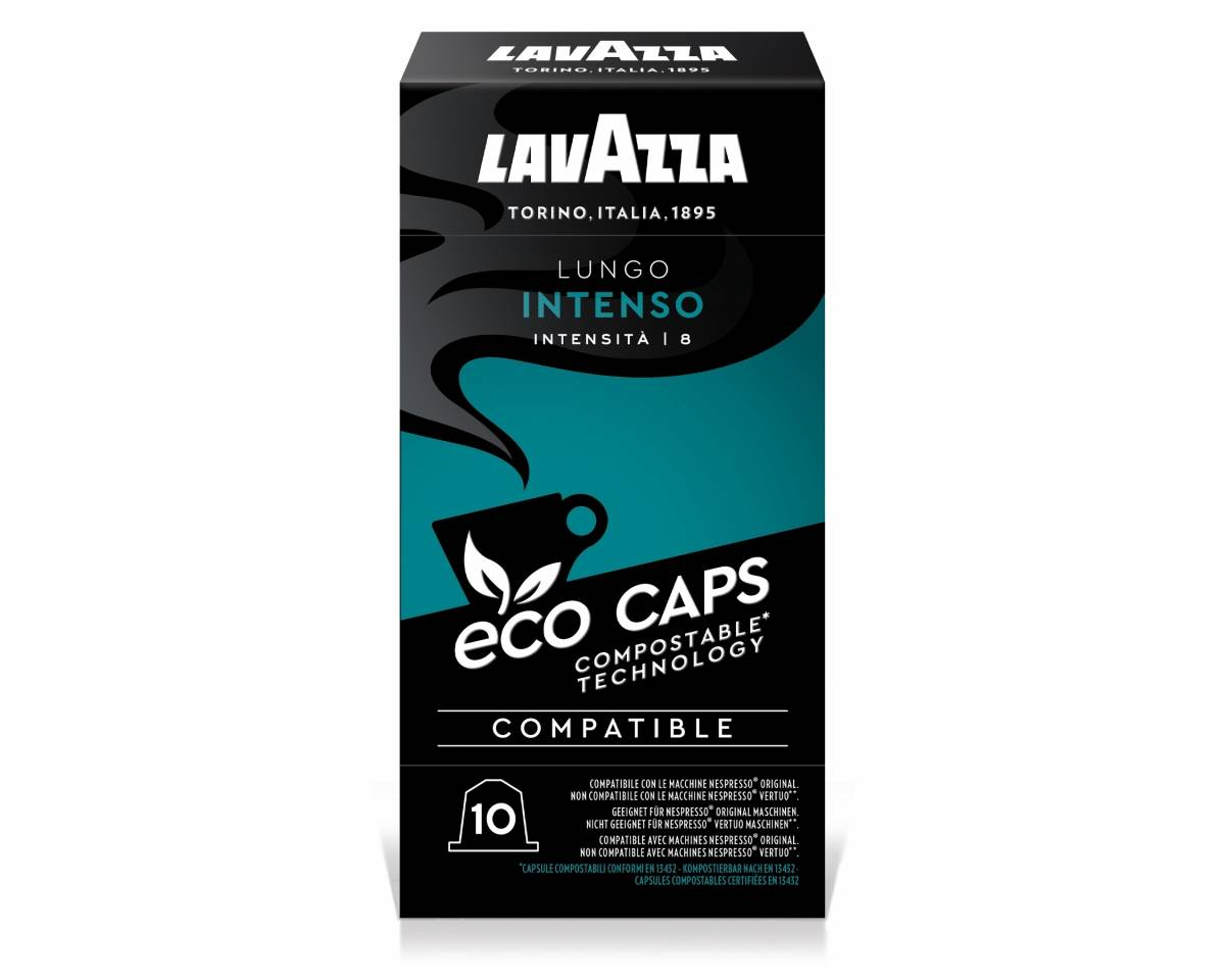 Lungo Intenso Éco Caps - Compatible Nespresso Biodégradable