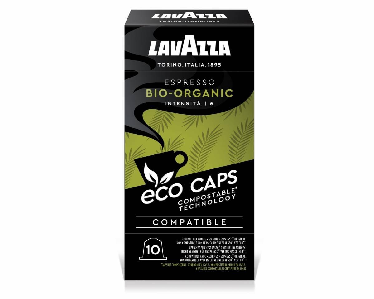 Espresso Bio Organic Éco Caps - Compatible Nespresso Biodégradable