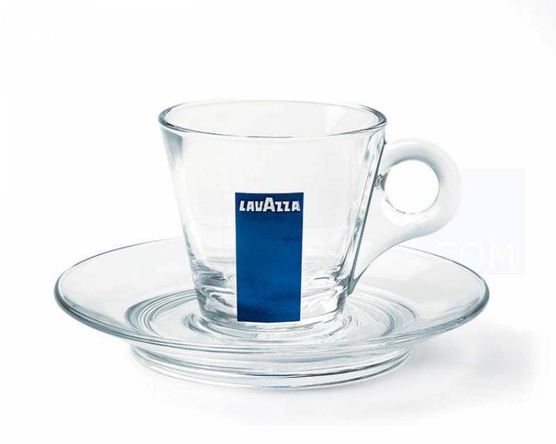 Tasses en verre Lavazza 8cl