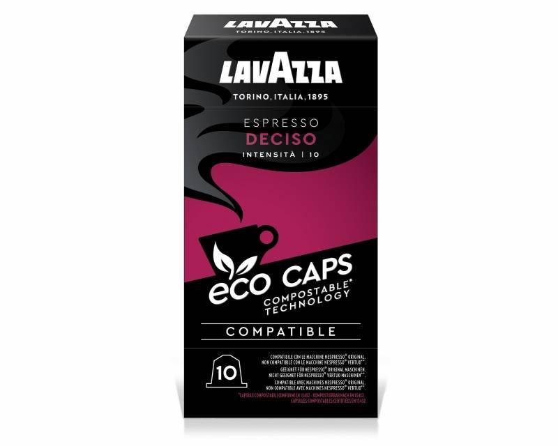 Espresso Deciso Éco Caps - Compatible Nespresso Biodégradable